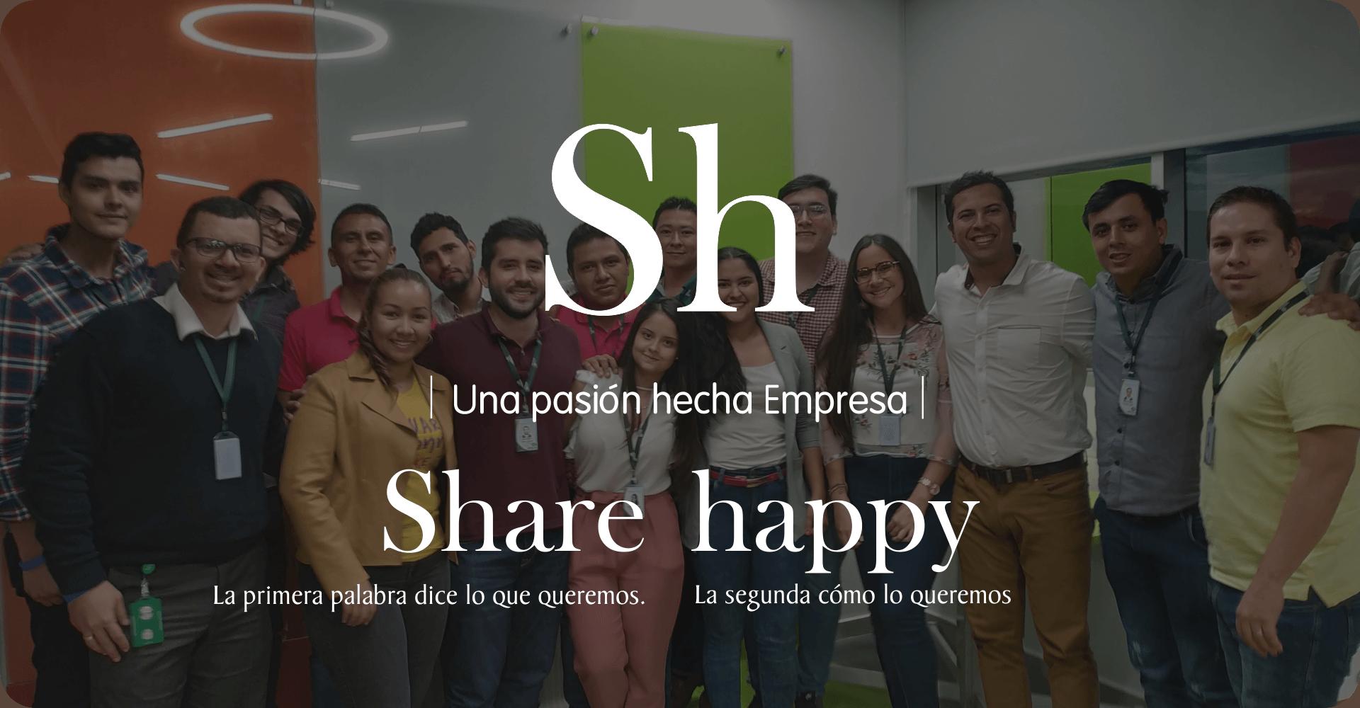 Nosotros - Shareppy Internacional